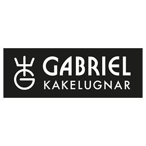 Gabriel kakelugnar logotyp